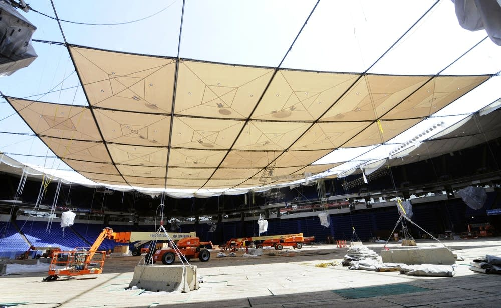 Metrodome Roof Collapse Was A Year Ago Monday Minnesota