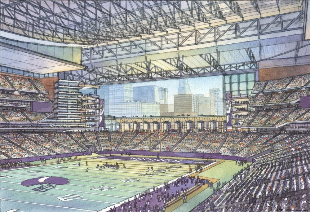 Vikings stadium proposal