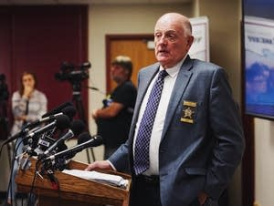 Stearns County Sheriff Donald Gudmundson