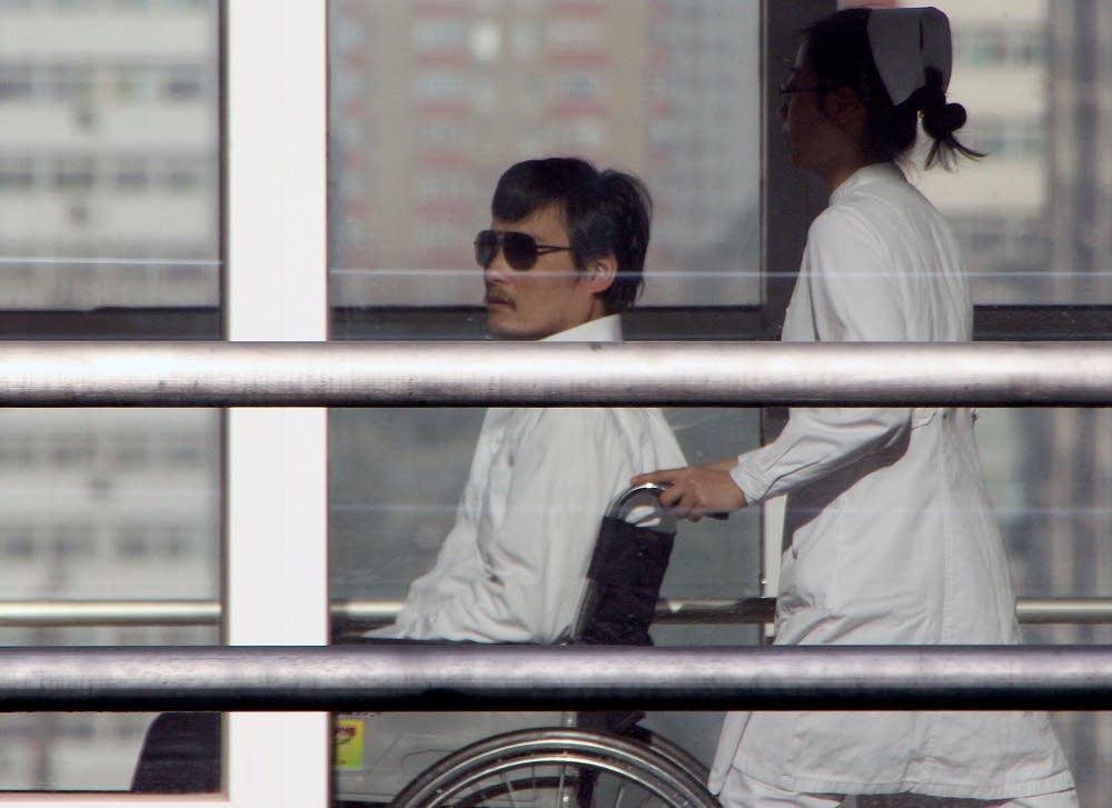 Chinese activist activist Chen Guangcheng