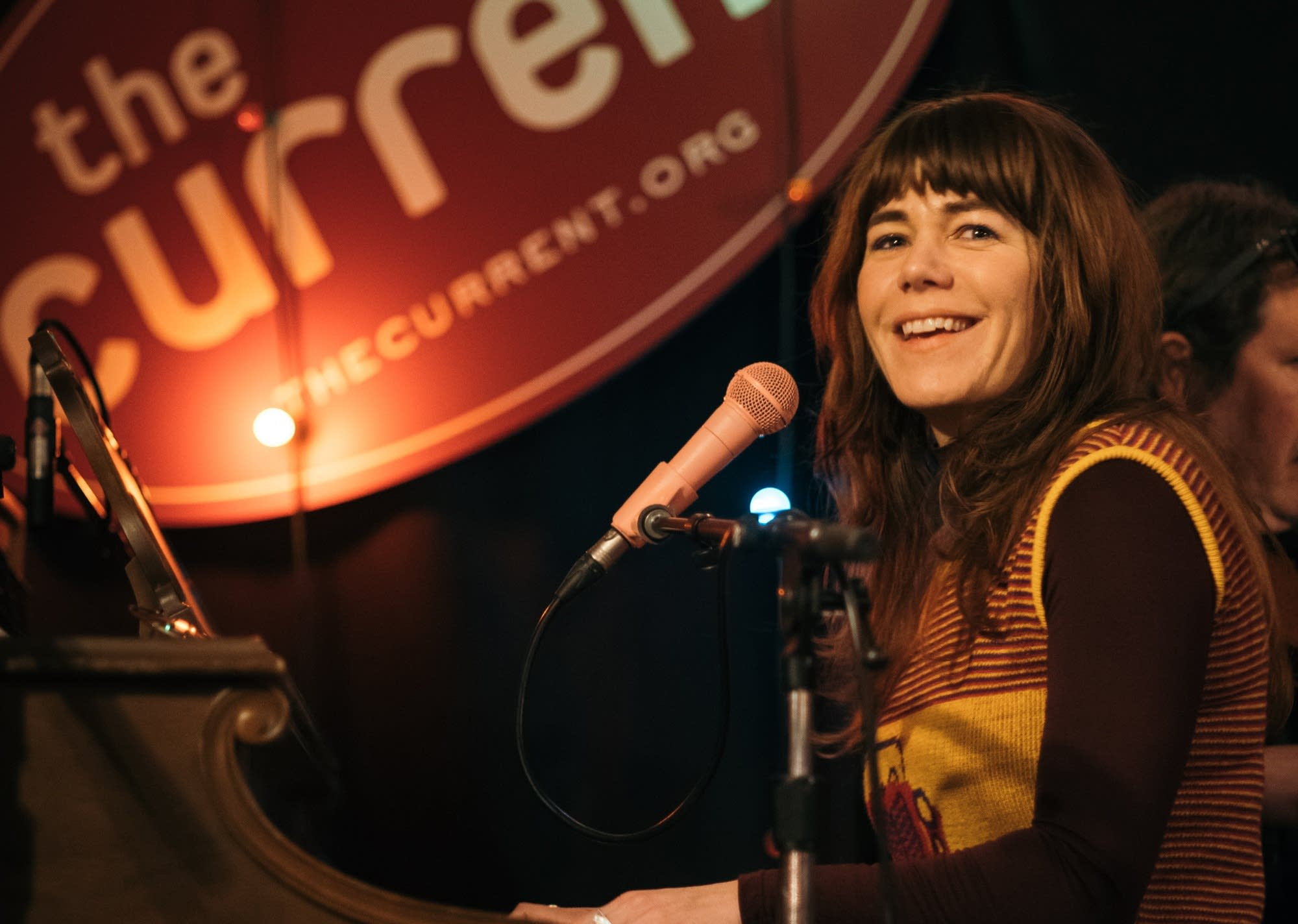 Jenny Lewis performs at Microshow at the Clown Lounge