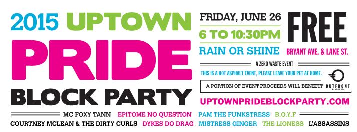 Uptown Pride Block Party