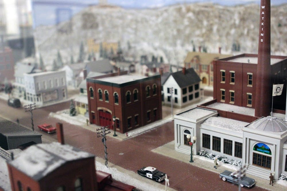 Model railroad detail