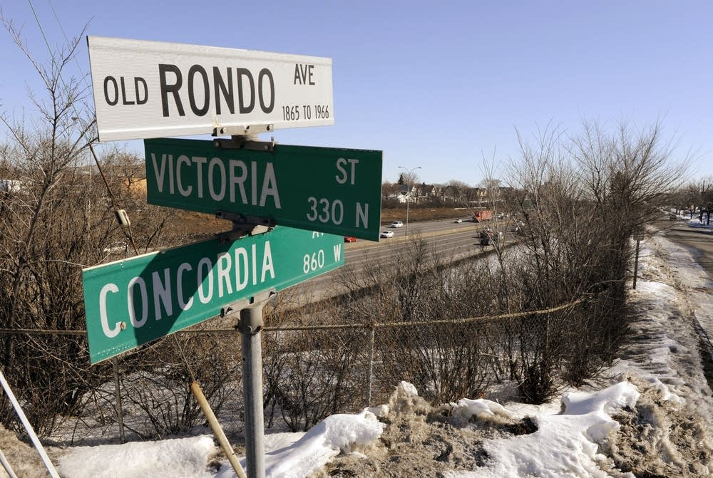 Old Rondo Avenue