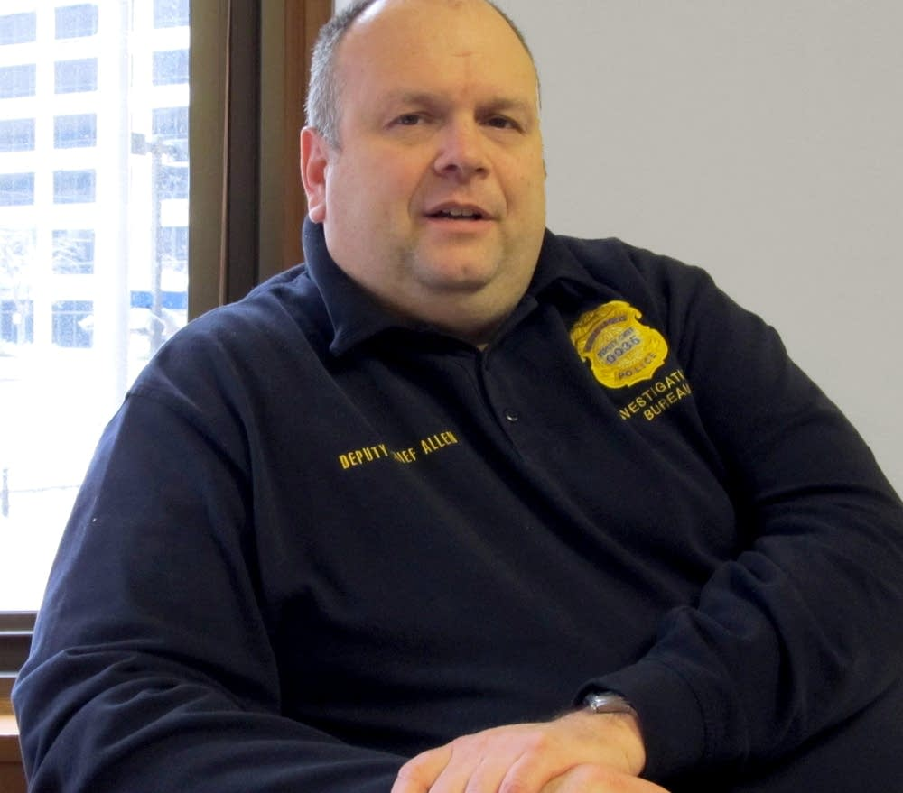 Minneapolis Police Lt. Rob Allen