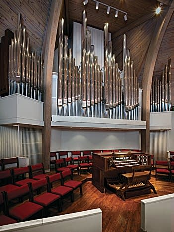 2010 Parkey organ, Opus 11, at First Presbyterian, Gainesville, Georgia