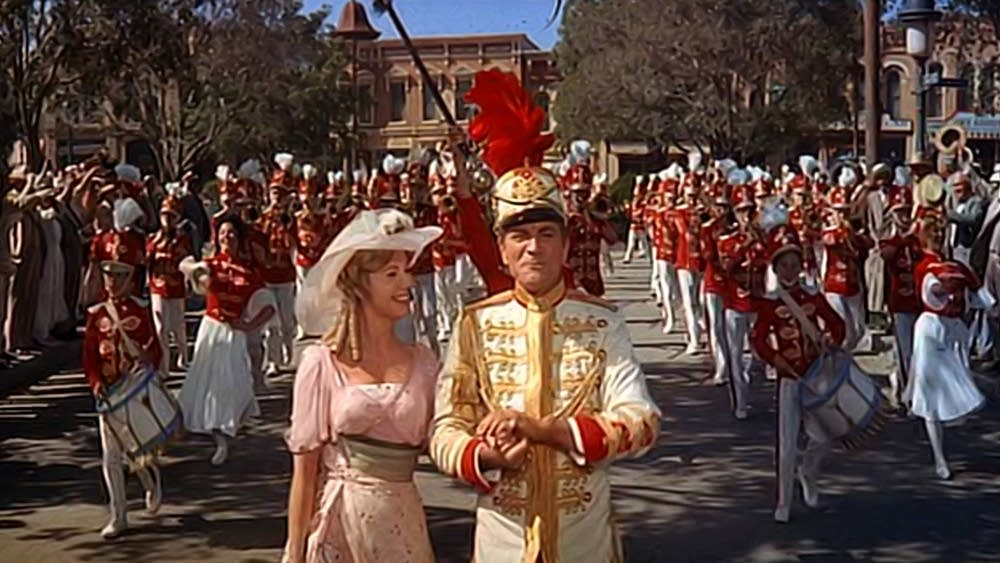 A still from the Music Man