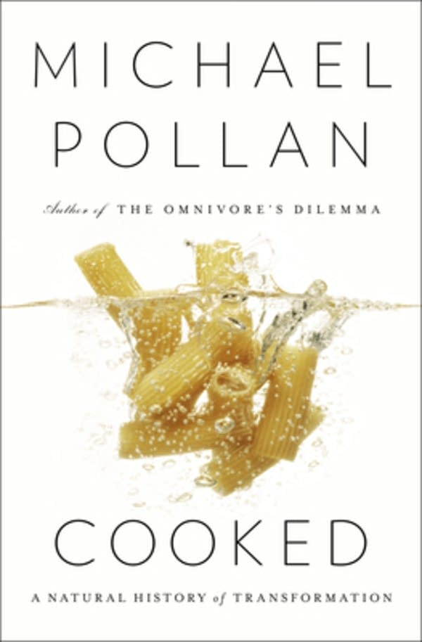 "Cover of ""Cooked"" by Michael Pollan"