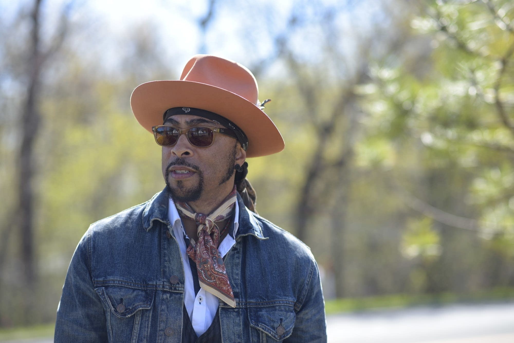 Andre Cymone at Paisley Park on April 21, 2017