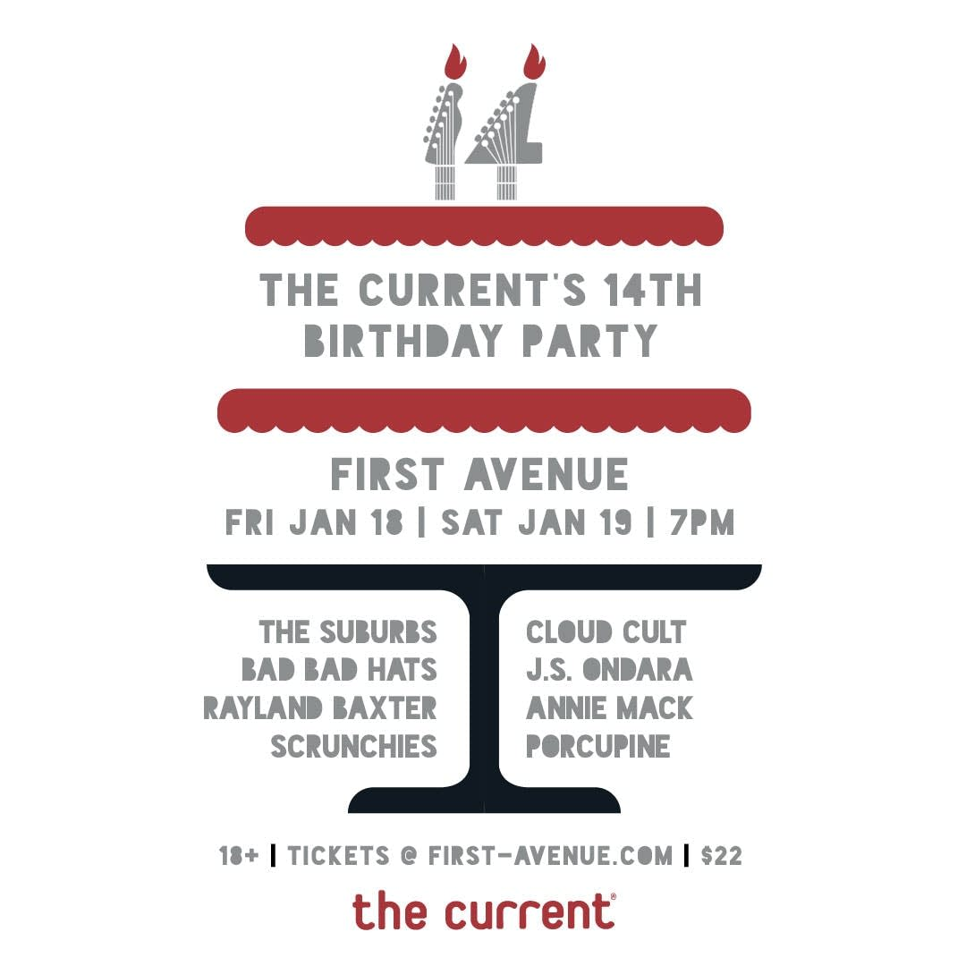 The Currents 14th Birthday Parties