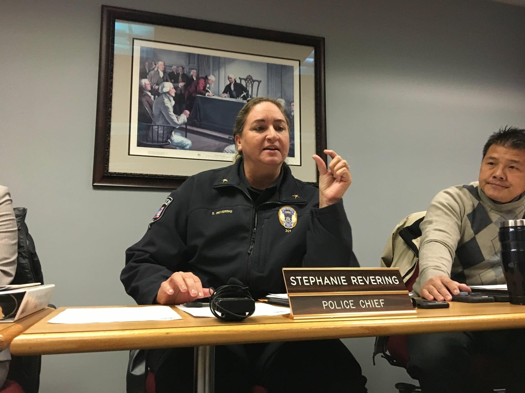 Crystal Police Chief Stephanie Revering