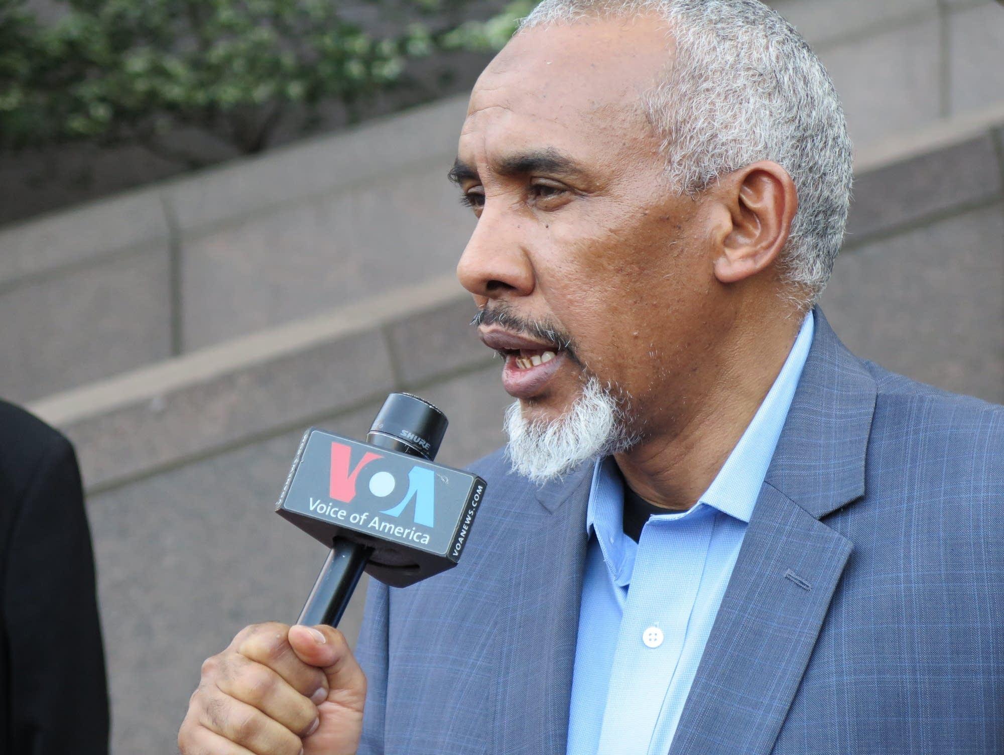 Mohamed Abass, father of former Minneapolis officer Mohamed Noor