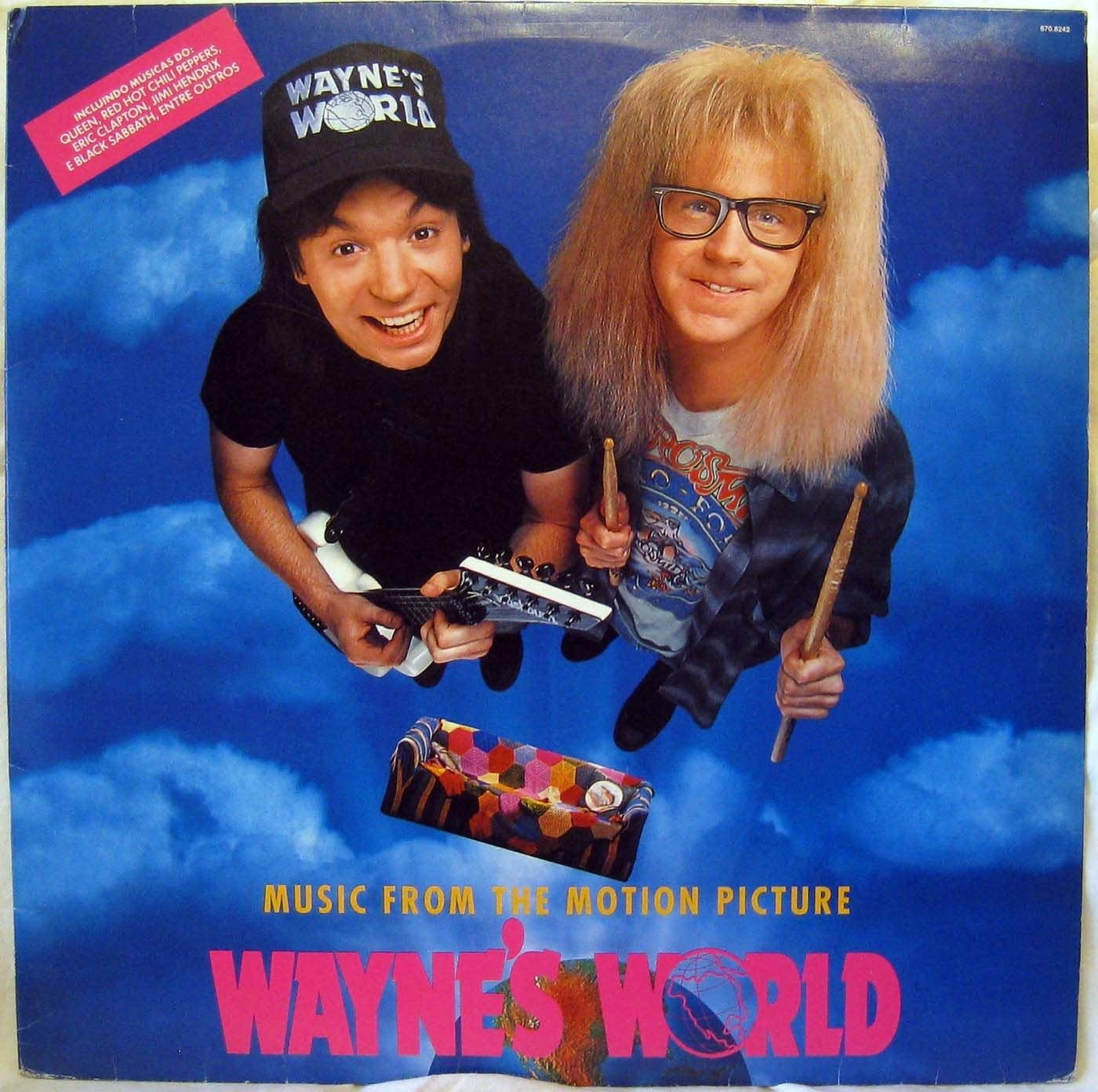 Wayne's World Soundtrack cover art