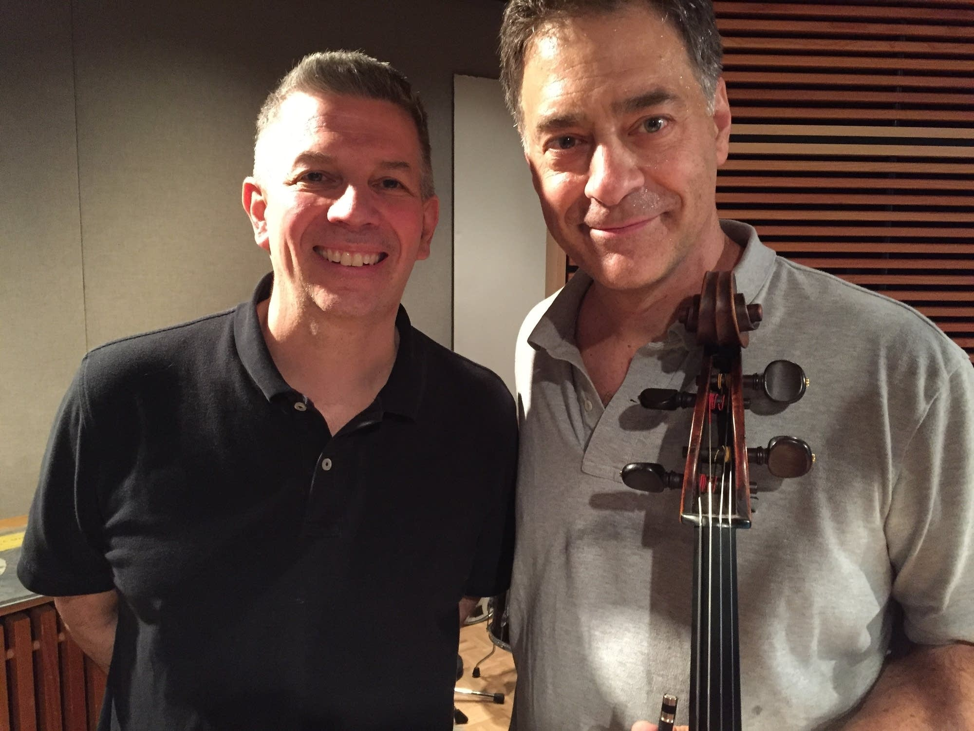 Steve Staruch and Minnesota Orchestra cellist Tony Ross