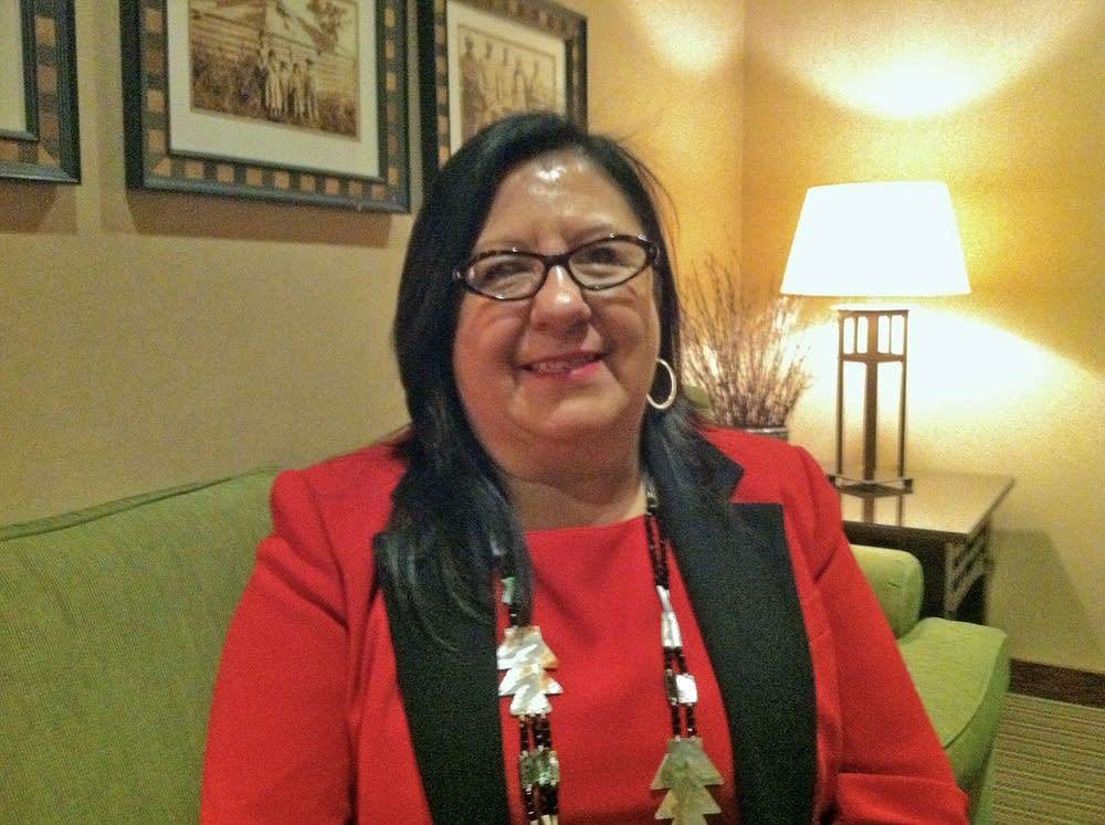 Melanie Benjamin, chief executive of the Mille Lacs Band of Ojibwe