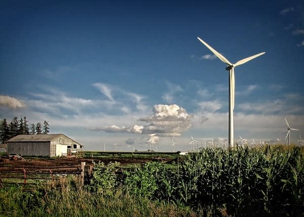 Where do we store electricity when the wind dies down?