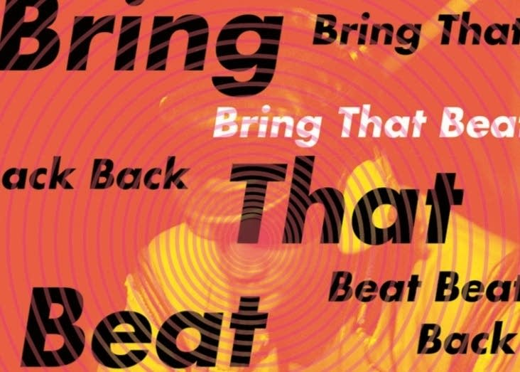 Detail from the cover of Nate Patrin's 'Bring That Beat Back.'