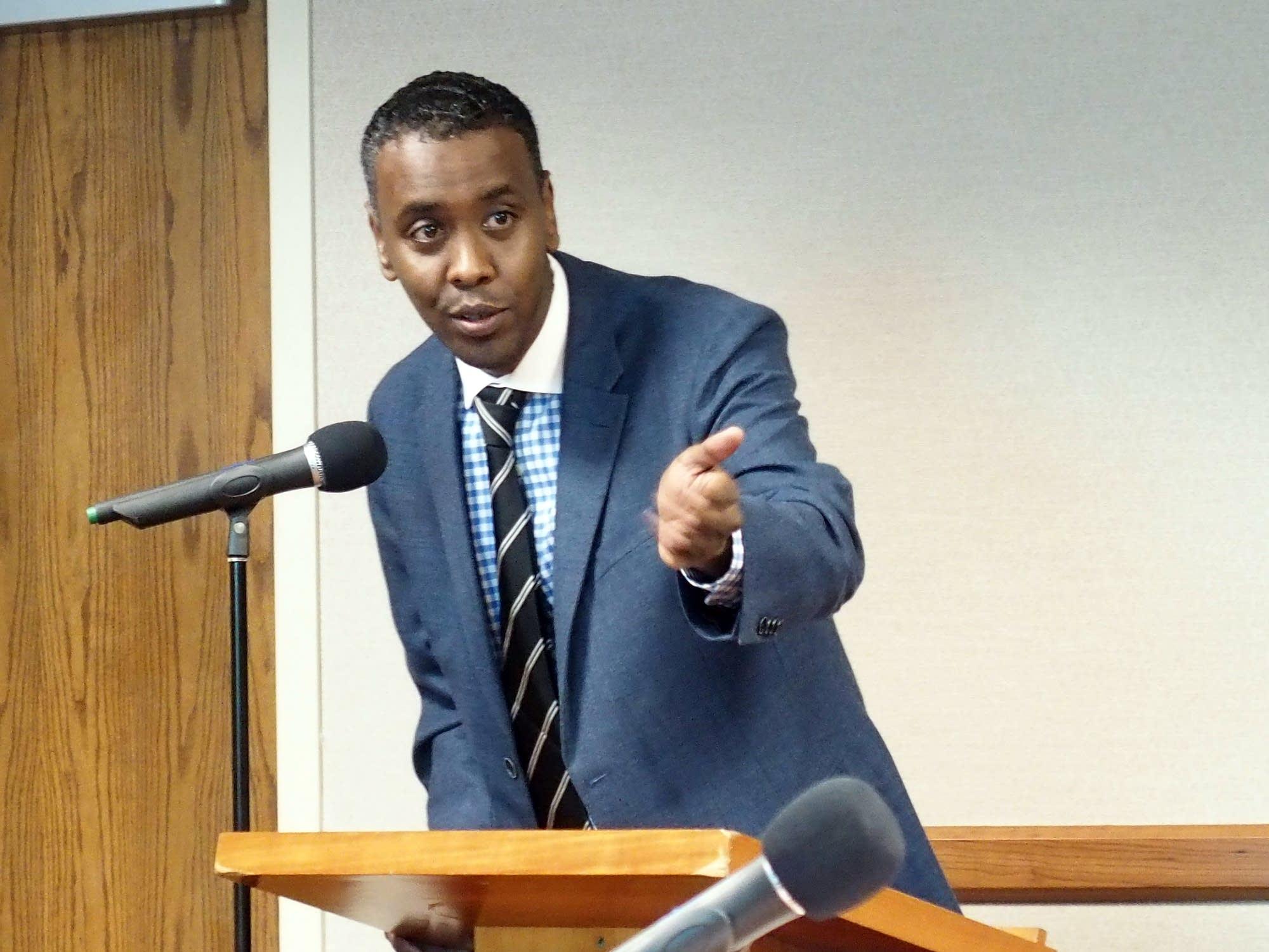 Minneapolis city council member Abdi Warsame