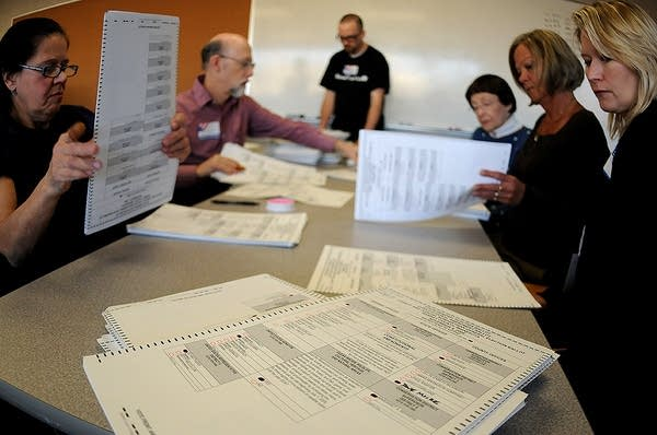 Counting ballots in Ramsey County