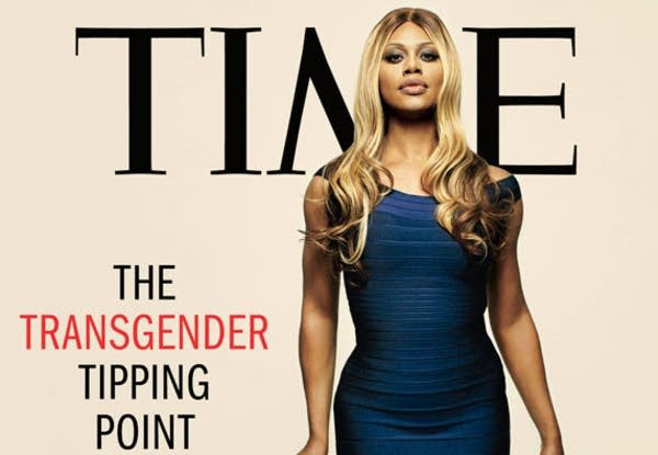 Actress Laverne Cox on the cover of Time