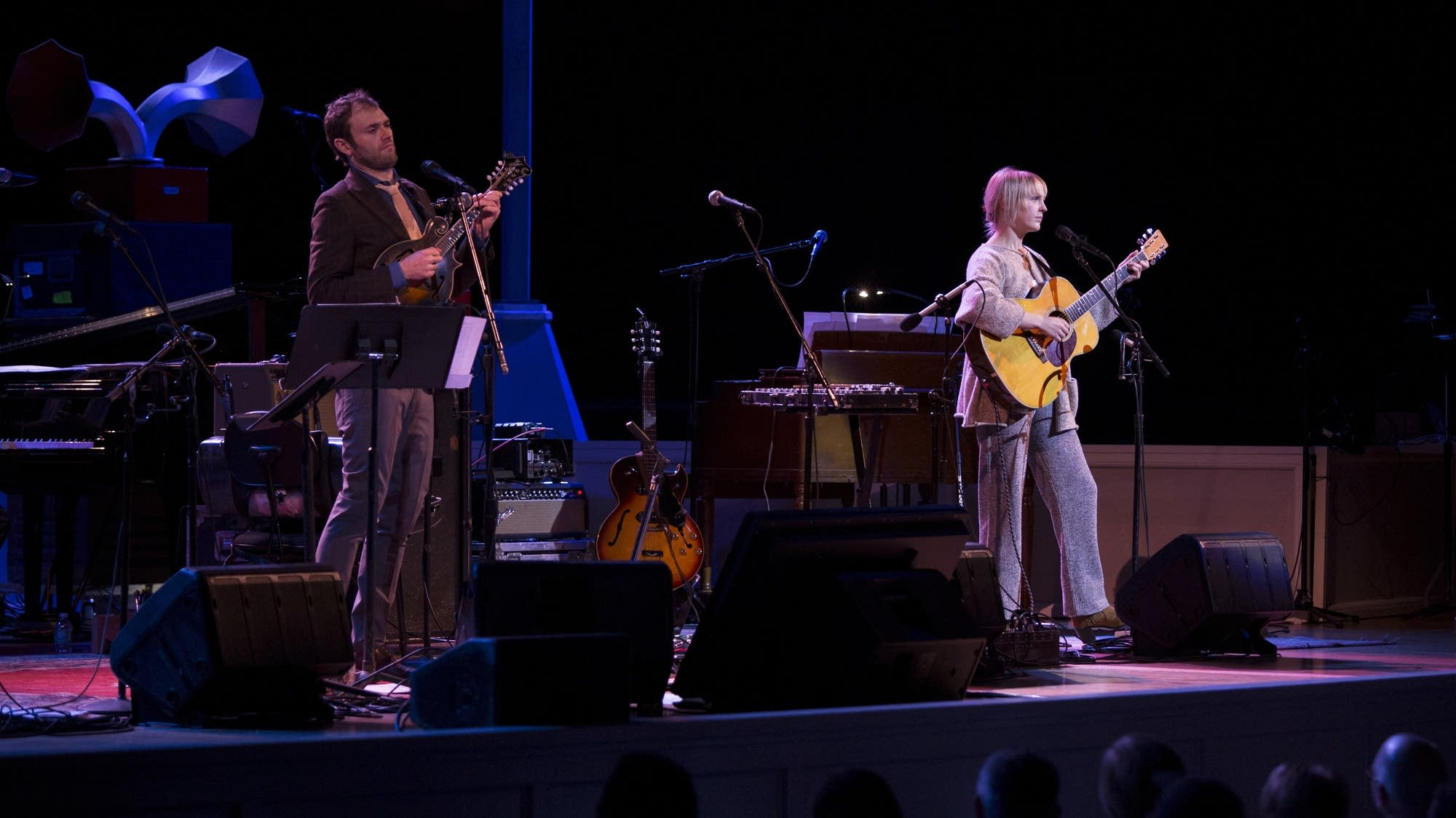 """Wild Fire"" -- Laura Marling with Chris Thile"
