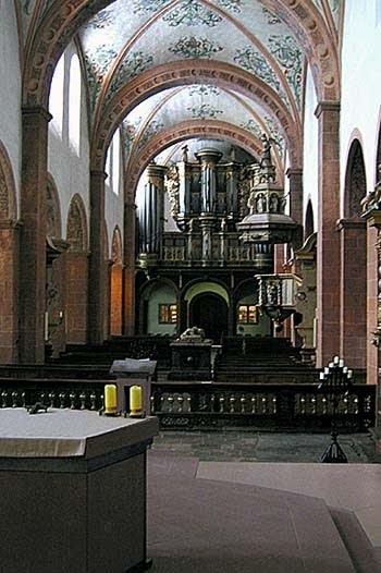 1727 König organ at Steinfeld Basilica, Germany