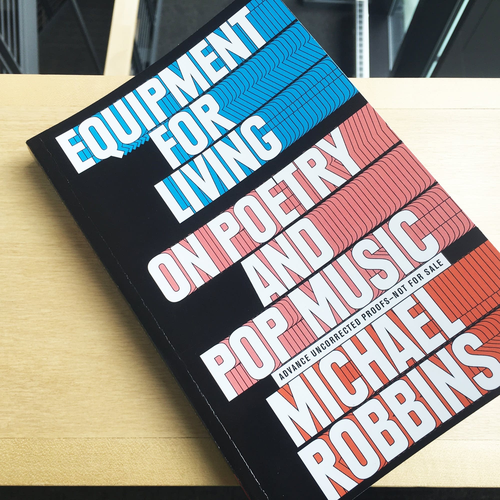 Michael Robbins's 'Equipment for Living'