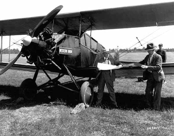 An airmail plane