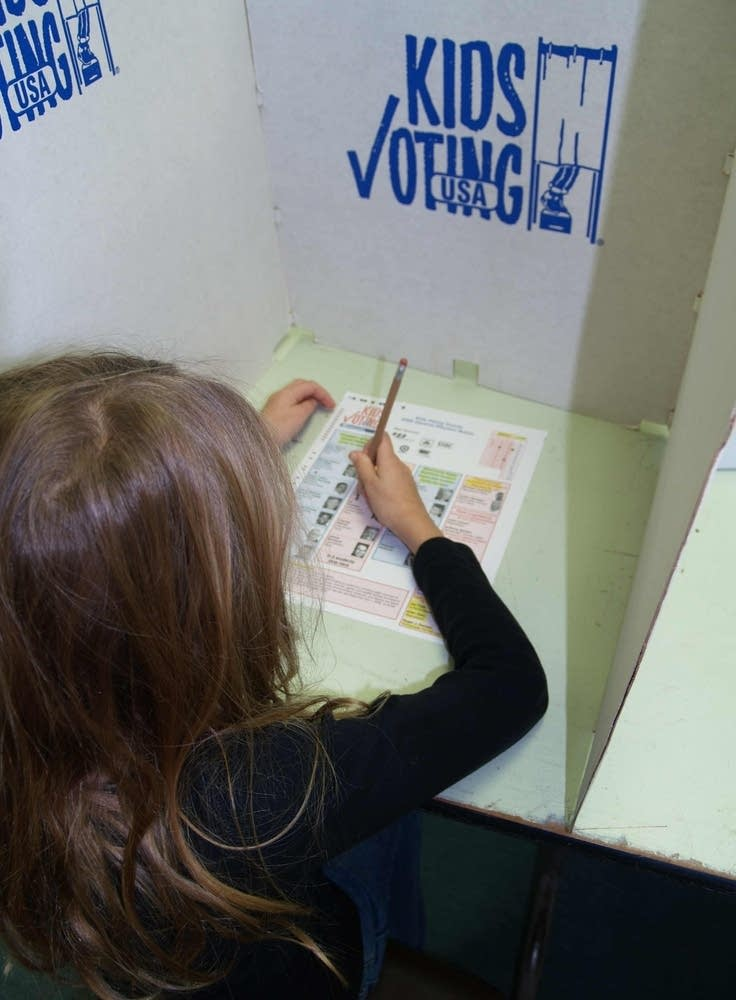 Kids vote