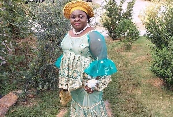 A Liberian nurse, Isabella Wreh-Fofana