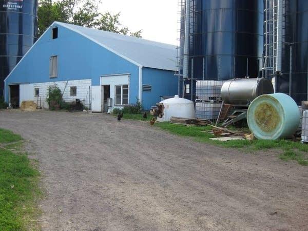 Hartmann dairy barn