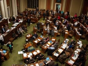 Last day of legislative session in the MN House