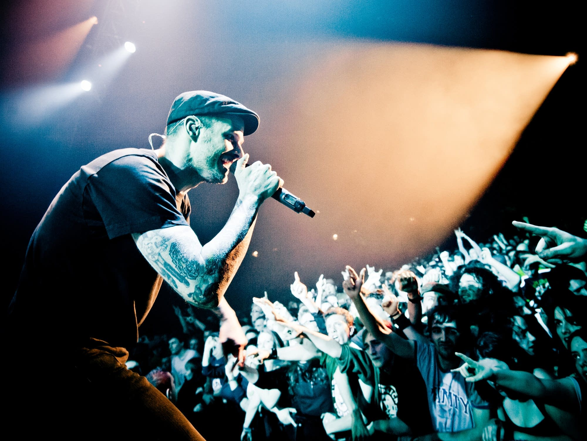 Dropkick Murphys perform in 2012.