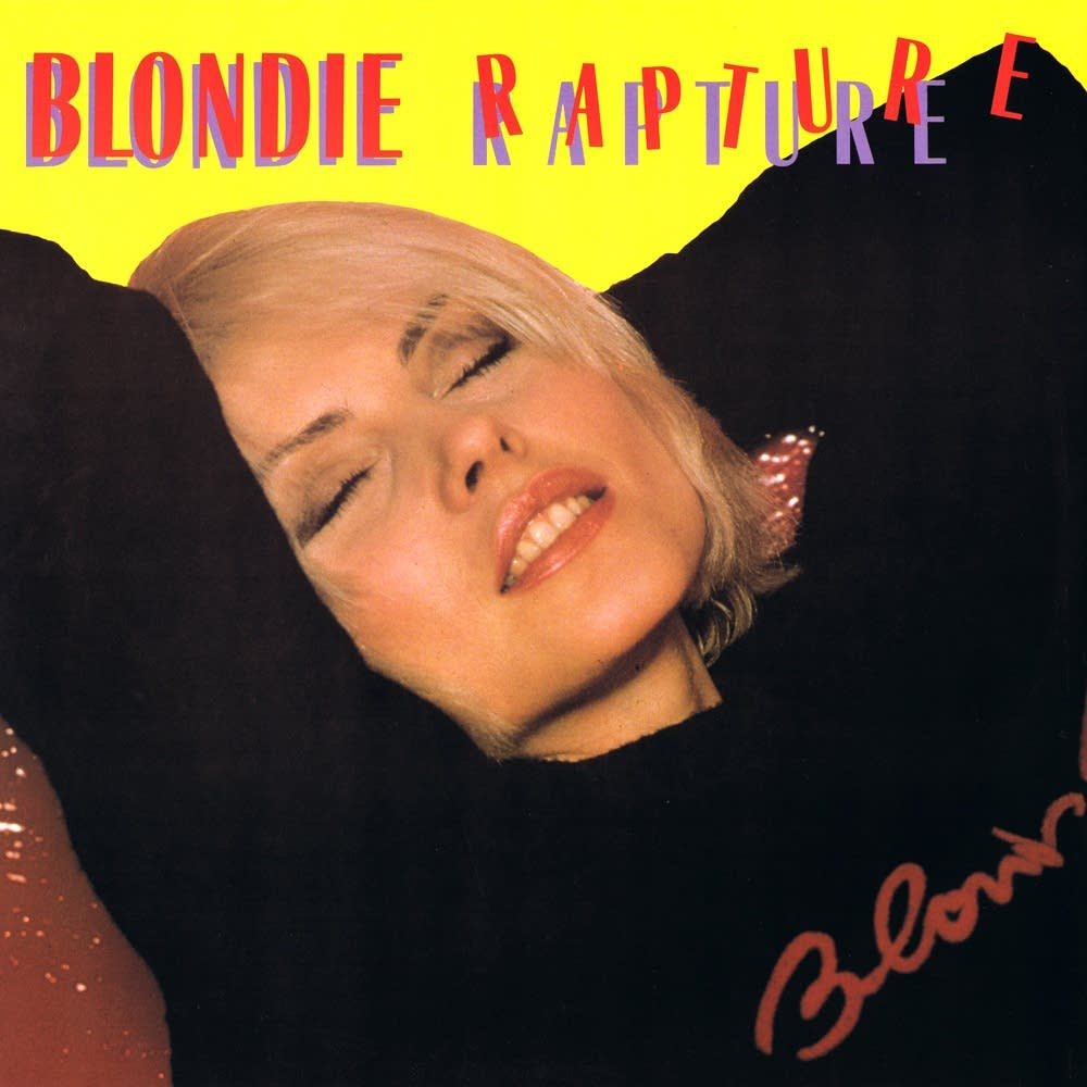 Blondie Rapture album cover