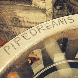 Written in the dust…PIPEDREAMS visitors leave a mark on the organ gallery railing at the Church of St. Augustin in Paris during our 2017 Group Tour.