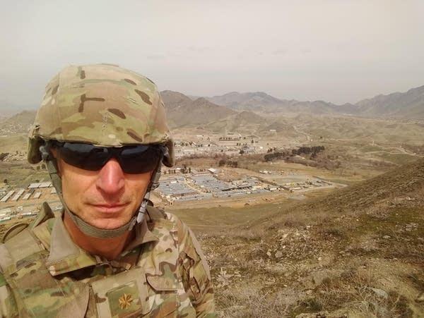 Lt. Cmdr. Roger Reinert of Duluth