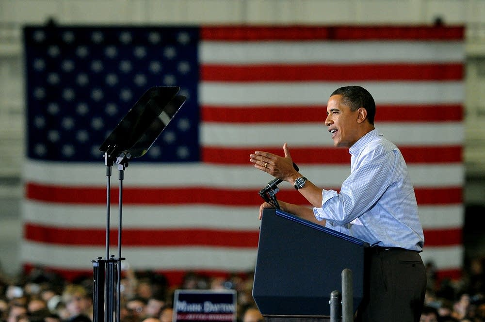 Obama at the U of M