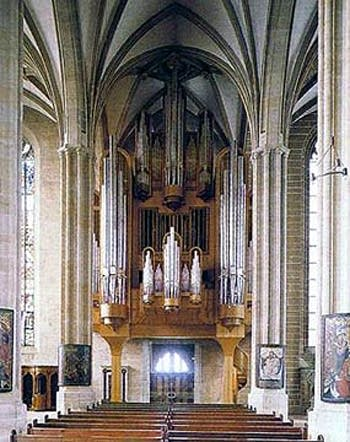 1992 Alexander Schuke organ at Erfurt Cathedral, Germany