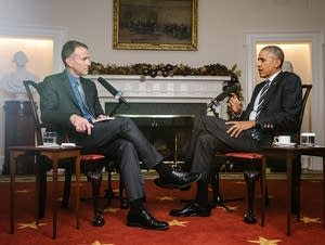 Steve Inskeep interviews President Obama
