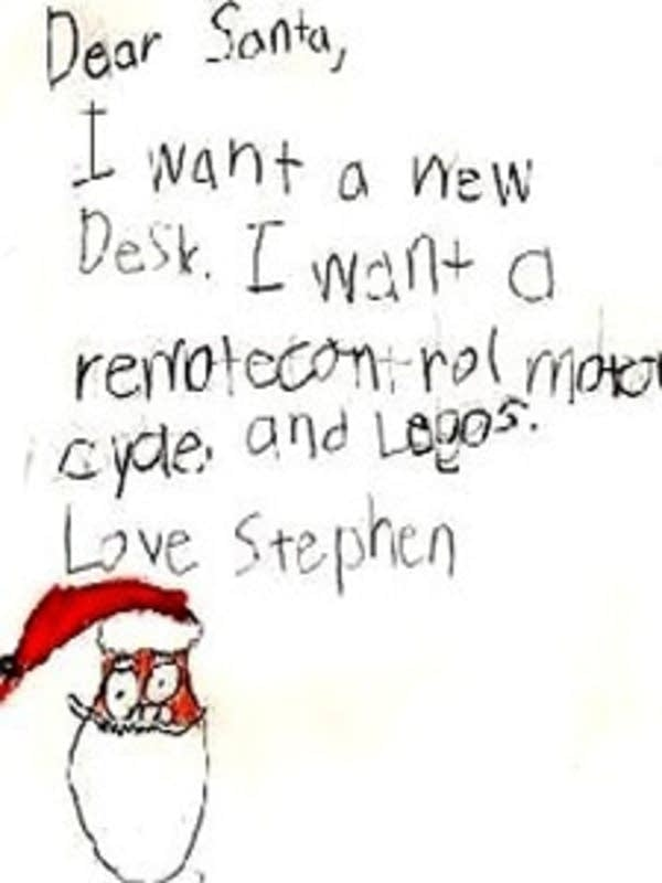Forwarding to Father Christmas