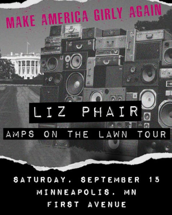 Liz Phair Amps on the Lawn Tour