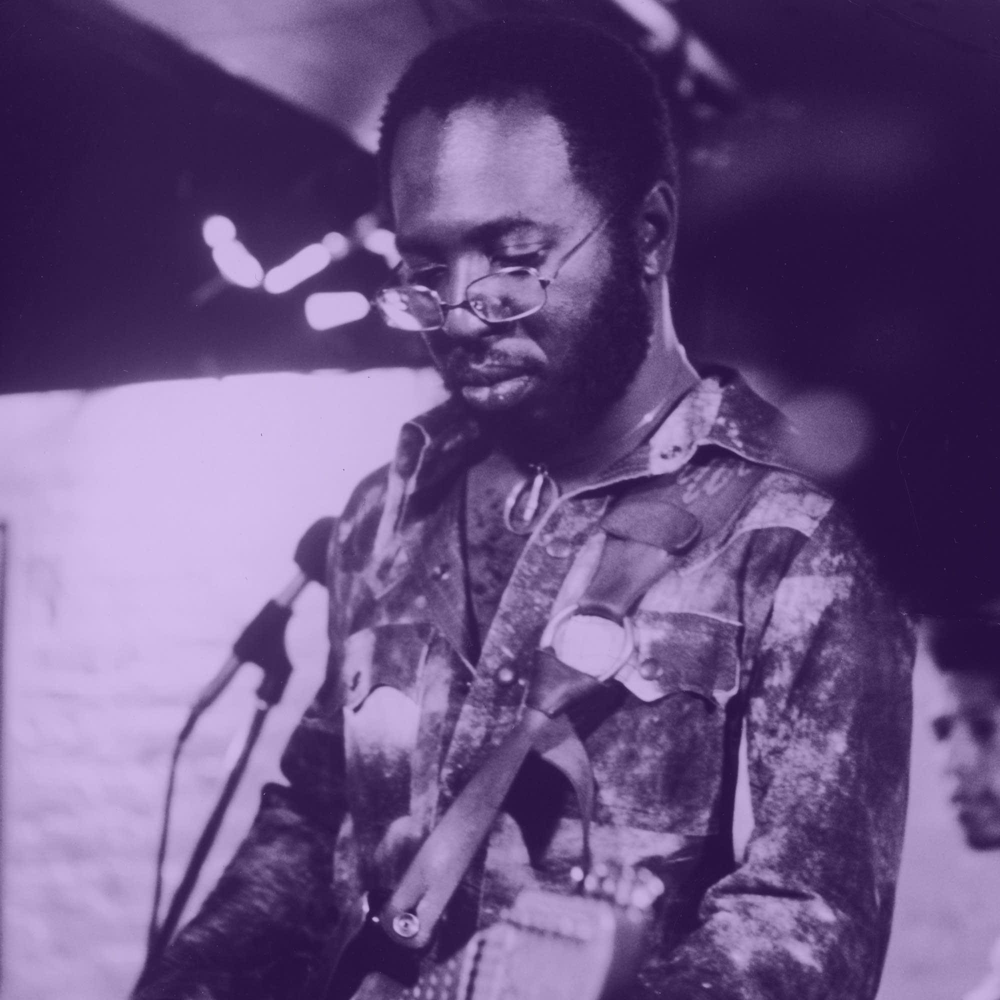 Purple Curtis Mayfield