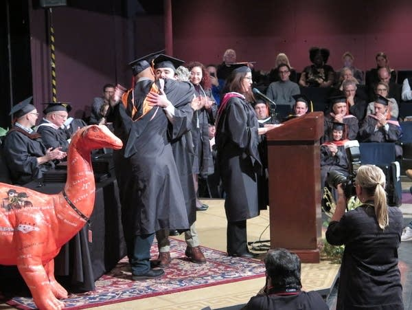 The last graduation ceremony at McNally Smith College of Music