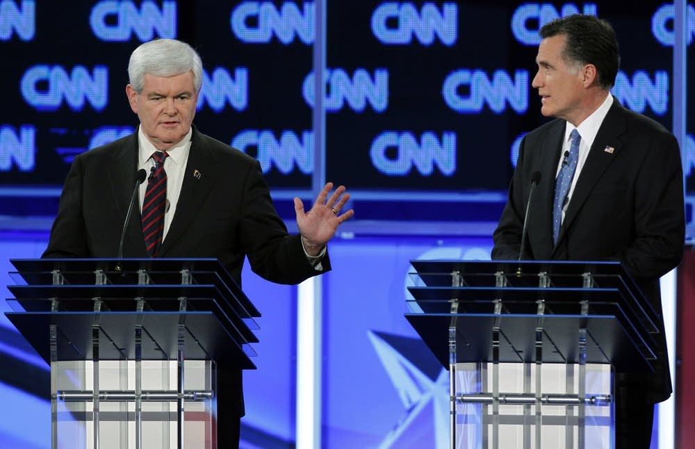 Newt Gingrich, Mitt Romney