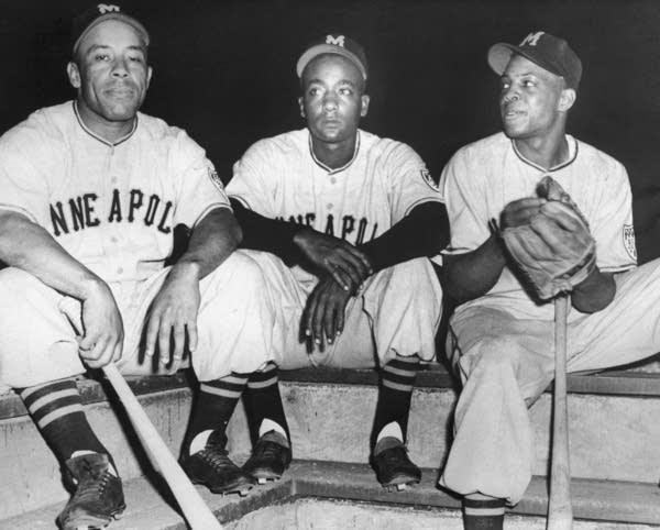 Minneapolis Millers, including Willie Mays