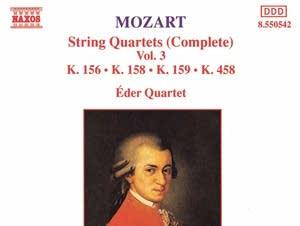 Wolfgang Amadeus Mozart - String Quartet No. 17