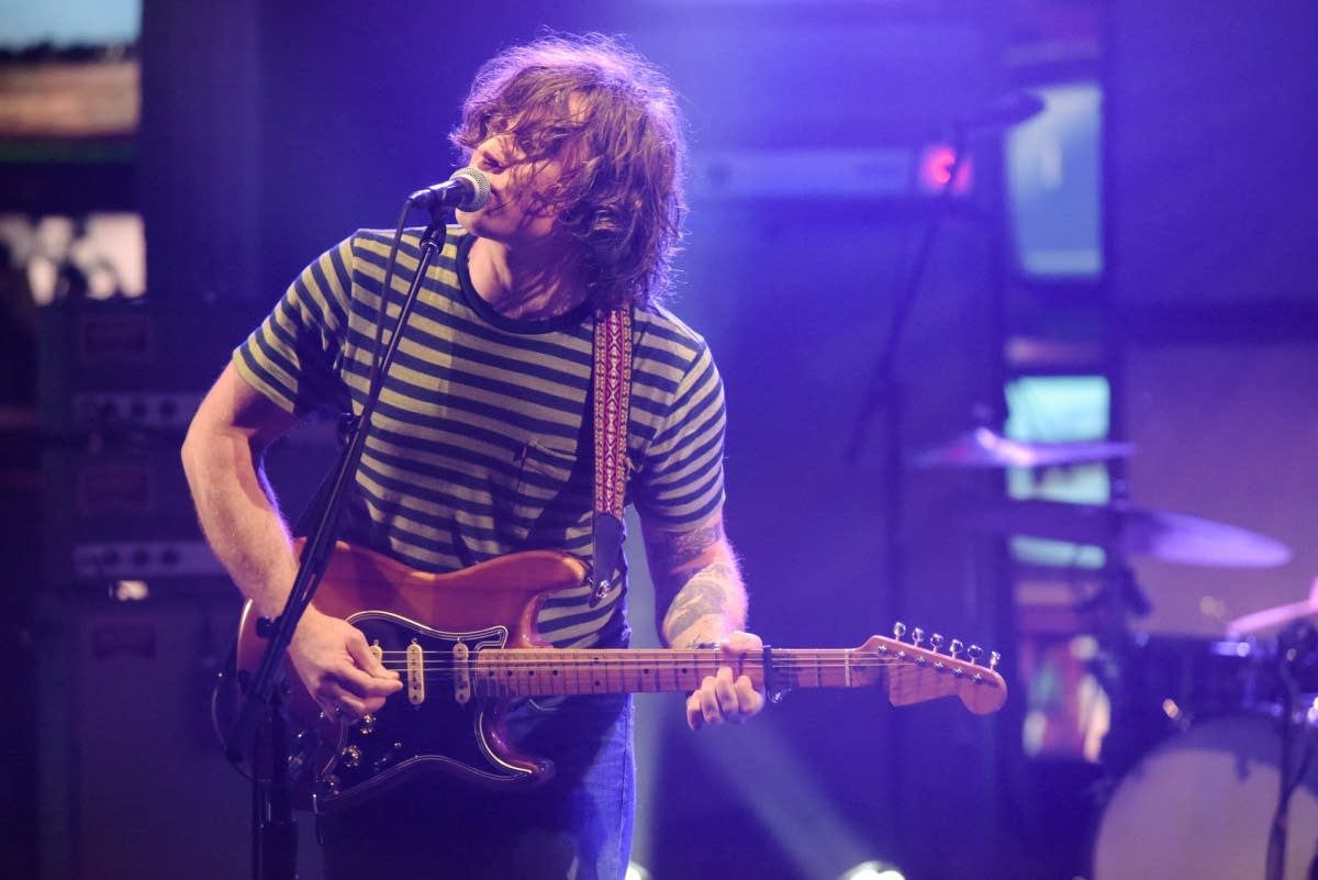 Ryan Adams on 'The Late Show with Stephen Colbert'