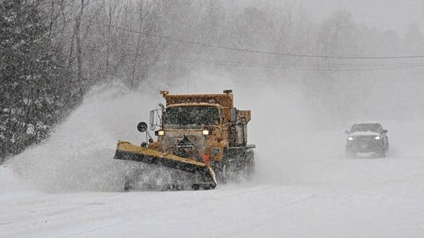 St. Louis County snowplow