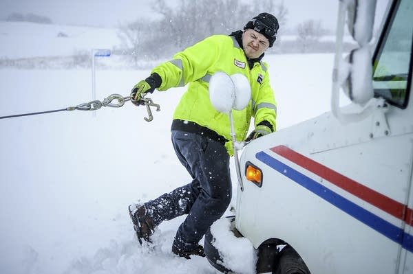 U S  Postal Service cancels delivery in Minnesota, parts of