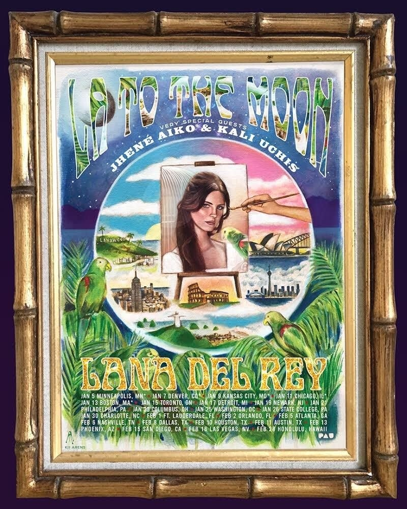 Lana Del Rey tour